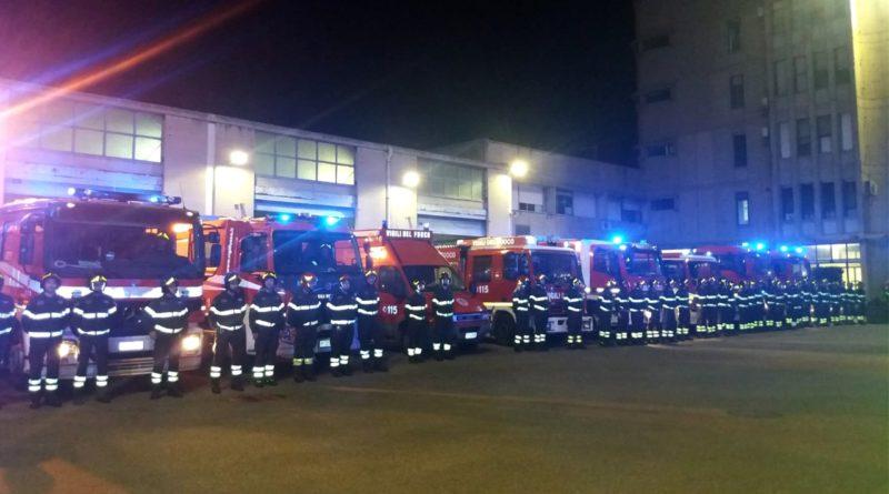 Esplosione nella cascina, l'omaggio dei Vigili del Fuoco di Cagliari (VIDEO)