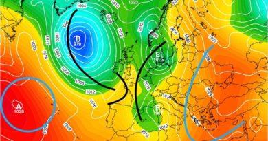 Previsioni del tempo 19-24 novembre - Alessandro Gallo