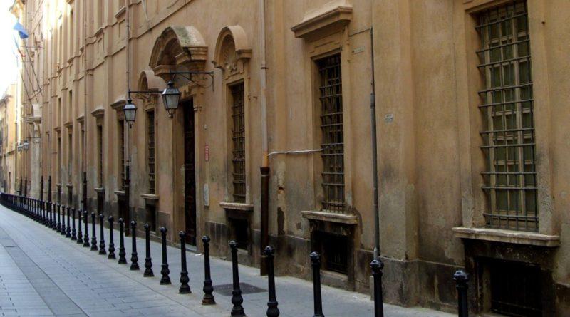 Palazzo Belgrano, sede del rettorato dell'Università di Cagliari