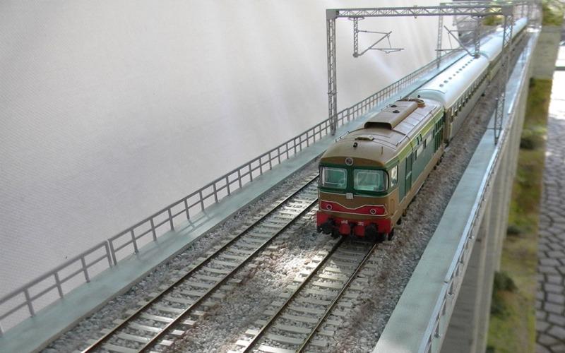 Il modellino di un treno
