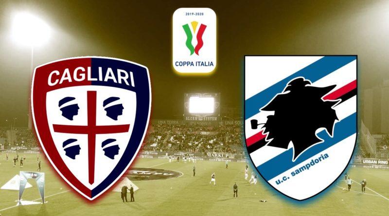 Cagliari-Sampdoria Coppa Italia