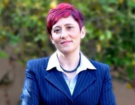 L'Assessora Lidia Gioi