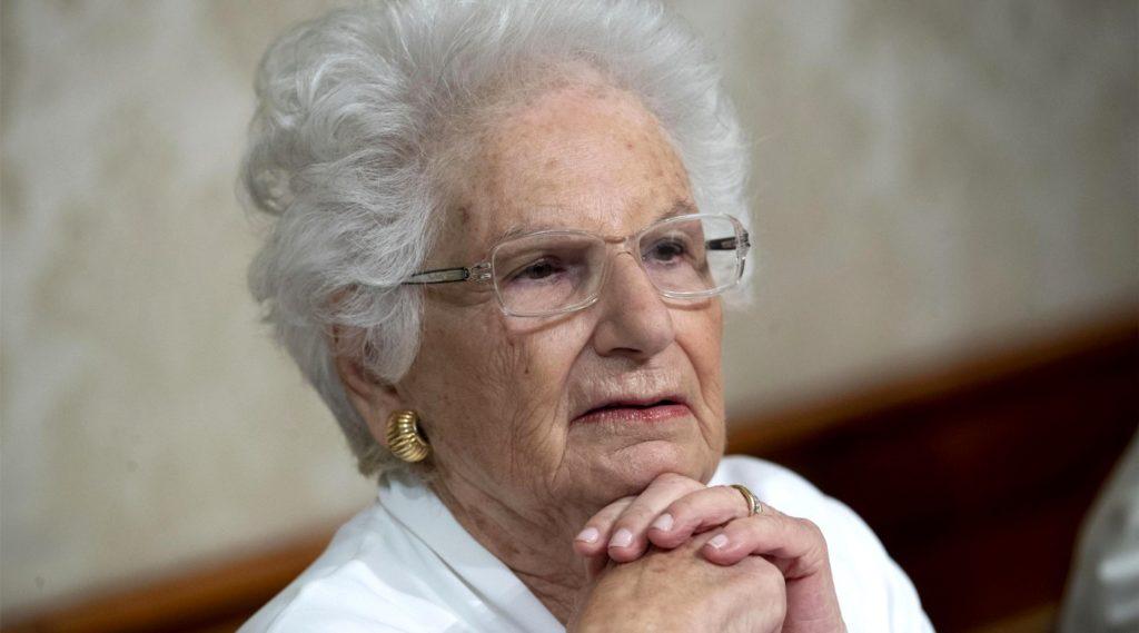 La Senatrice Liliana Segre