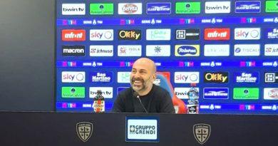 Tommaso Giulini in conferenza stampa - © foto Marco Orrù