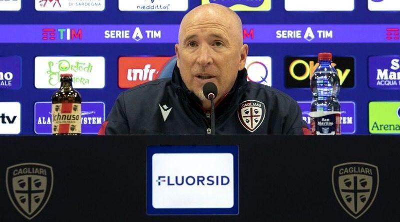 Rolando Maran alla vigilia di Cagliari-Lazio - © foto Cagliari Calcio