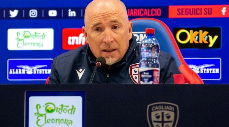 Rolando Maran alla vigilia di Cagliari-Sampdoria - © foto Cagliari Calcio