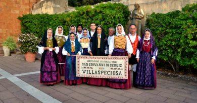 """Alcuni componenti dell'Associazione """"San Giovanni di Seruis"""""""