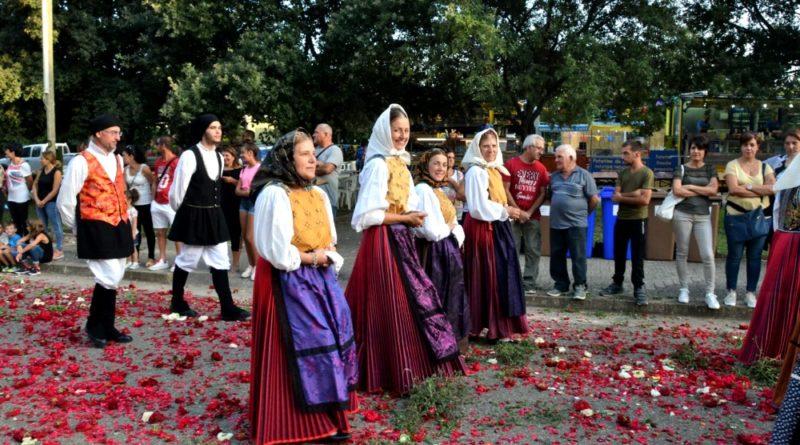 Il gruppo durante una processione