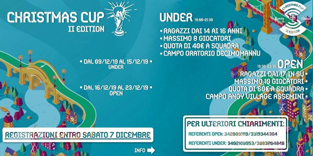 Locandina Christmas Cup 2019