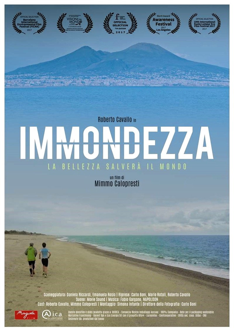 "Locandina del docufilm ""Immondezza"""