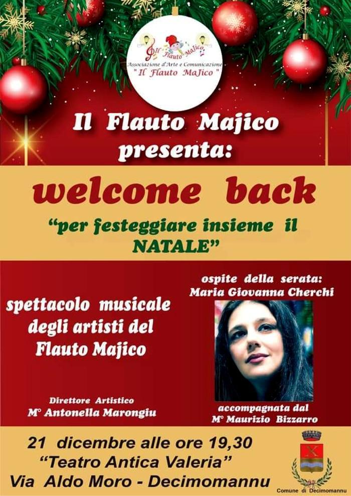 Welcome Back per festeggiare insieme il Natale