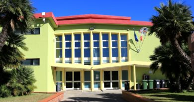 La Scuola Secondaria di primo grado di Decimomannu - foto di Tomaso Fenu