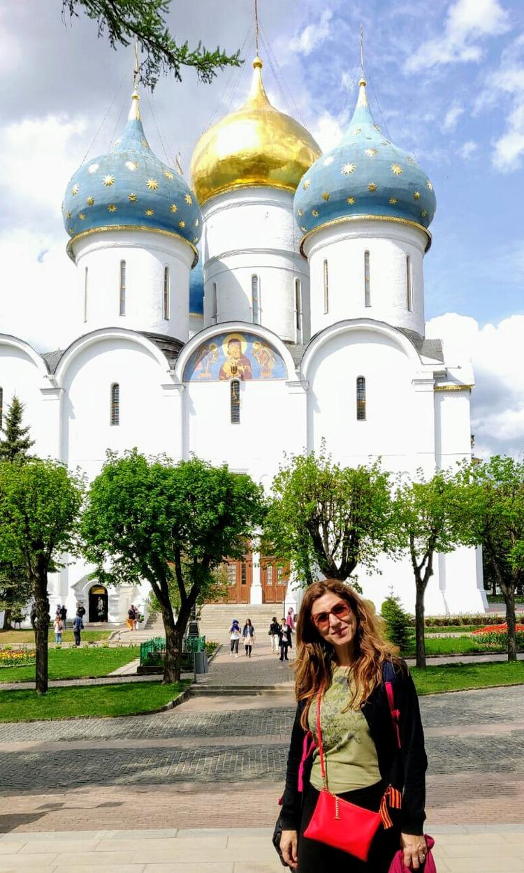Silvia Pinna a Mosca