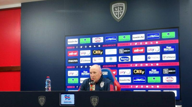 L'allenatore del Cagliari Rolando Maran - © foto Luca Pes