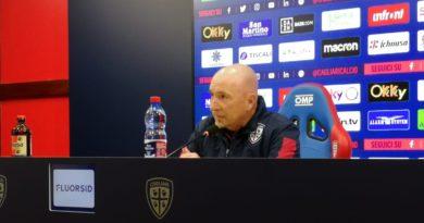 L'allenatore del Cagliari Rolando Maran - © foto Vulcano