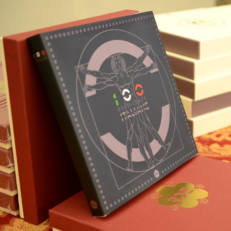 """Il libro """"100 eccellenze italiane"""" - © foto RD Editore"""