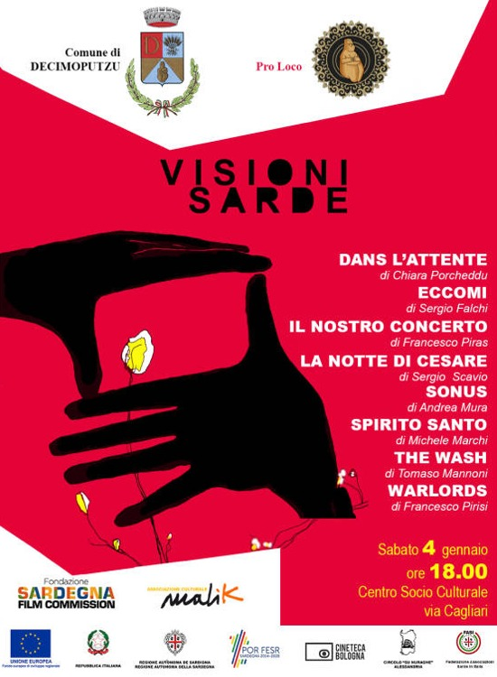 "Locandina ""Visioni Sarde"" Decimoputzu 2019"