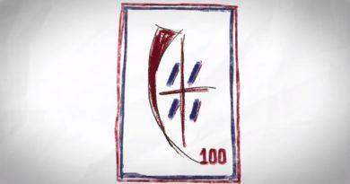 Presentato il logo del centenario del Cagliari disegnato da Antonio Marras