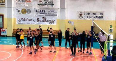 Pallavolo Decimomannu-Airone Tortolì 3-0