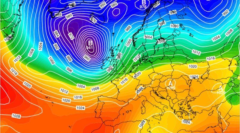 Previsioni meteo dal 14 al 19 gennaio 2020