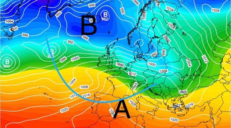Previsioni meteo dal 28 gennaio al 2 febbraio 2020