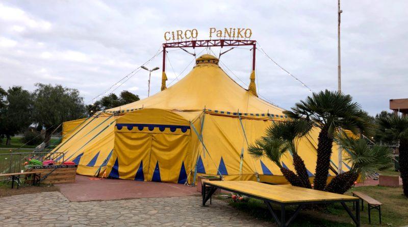 Il tendone del Circo Paniko