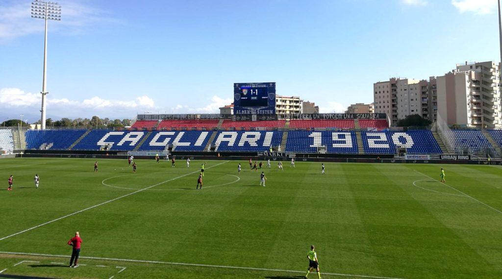 Cagliari-Juventus Primavera - 9 febbraio 2020