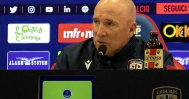 L'allenatore del Cagliari Rolando Maran - © foto Cagliari Calcio