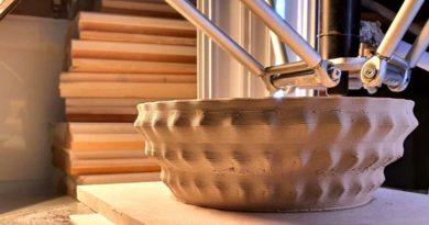 Lavorazione ceramica stampante 3D ceramica Wasp