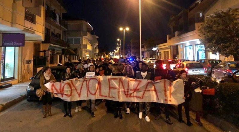 Manifestazione contro razzismo e violenza Assemini