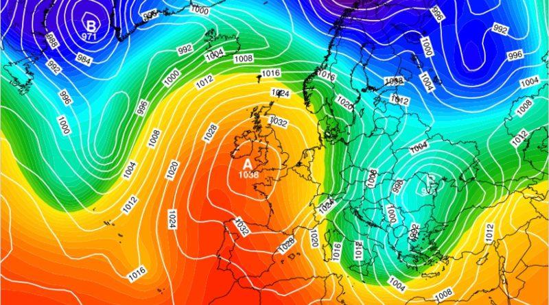 Previsioni meteo dal 3 al 9 febbraio 2020