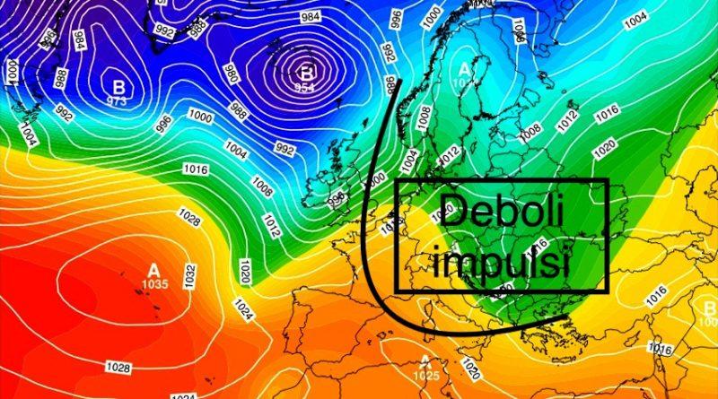 Previsioni meteo dal 18 al 23 febbraio 2020