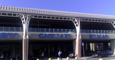 Aeroporto Cagliari-Elmas emergenza coronavirus