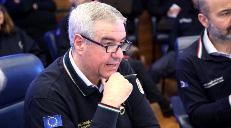 Angelo Borrelli, Capo Dipartimento Protezione Civile