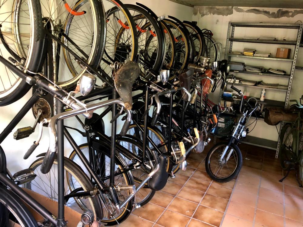 La collezione di bici d'epoca di Filippo Tuveri