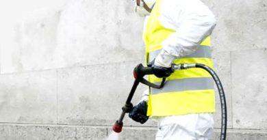 Disinfezione strade e piazze