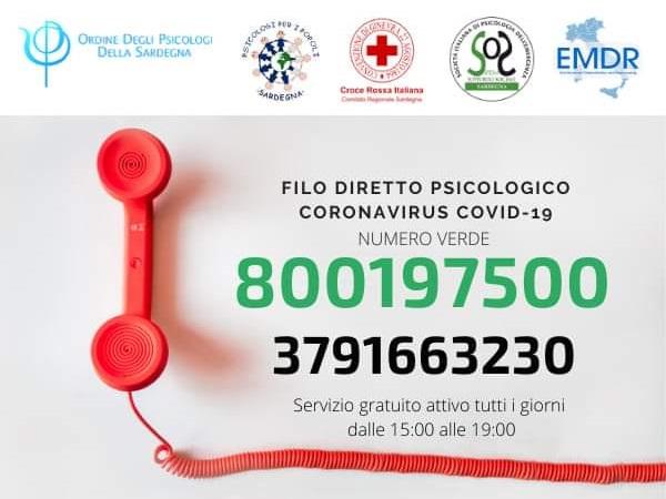 telefono Ordine degli Psicologi della Sardegna