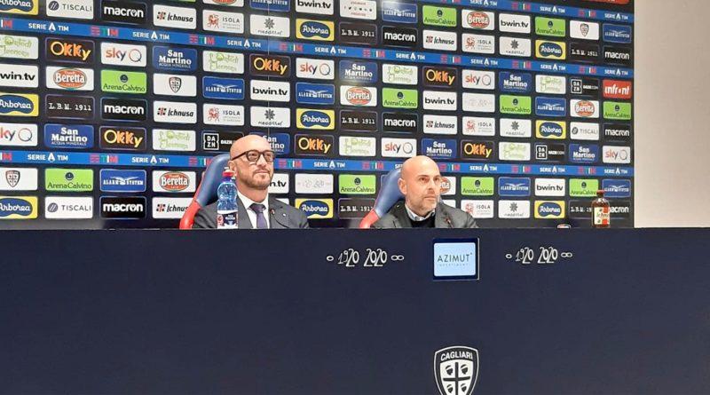 Presentazione Walter Zenga Cagliari Calcio