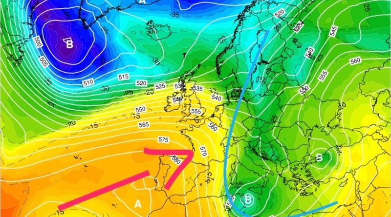 Previsioni meteo dal 9 al 15 marzo 2020
