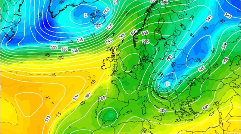 Previsioni meteo dal 23 al 29 marzo 2020