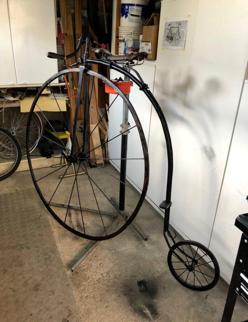 Un velocipede anni '20