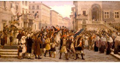 Giuseppe Sciuti, Ingresso trionfale di Giommaria Angioy a Sassari, 1879