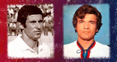 Greatti e Gori Campioni d'Italia 1970 - immagini Cagliari Calcio