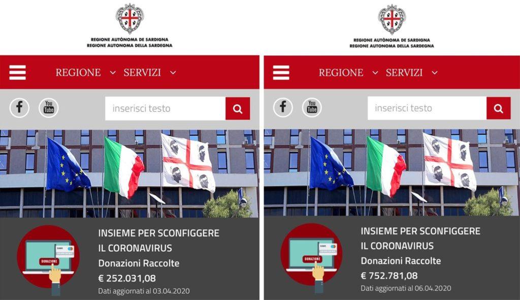 Donazione Musa Bazhaev a Regione Sardegna