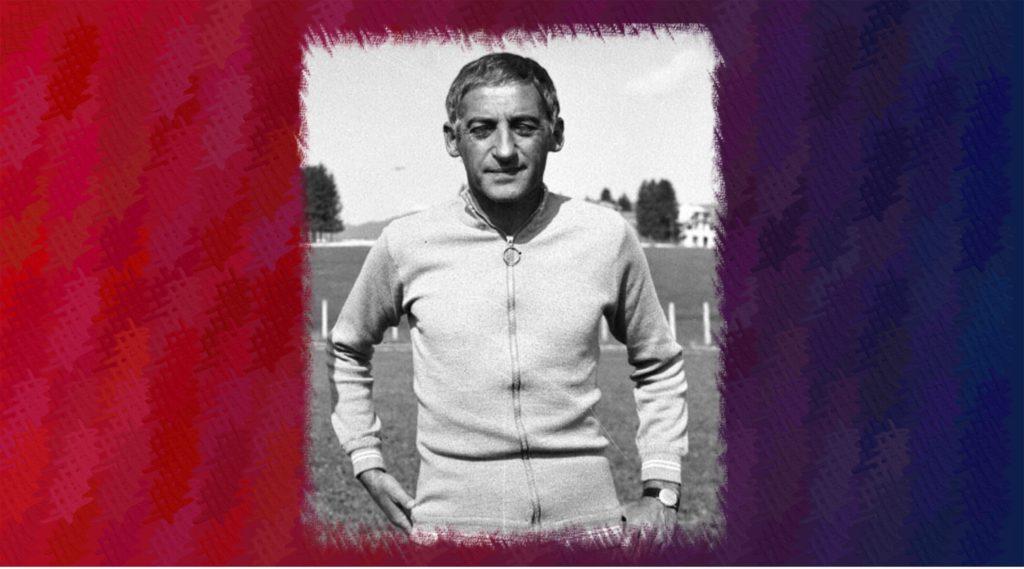 Manlio Scopigno, allenatore campione d'Italia 1970 - immagine Wikipedia