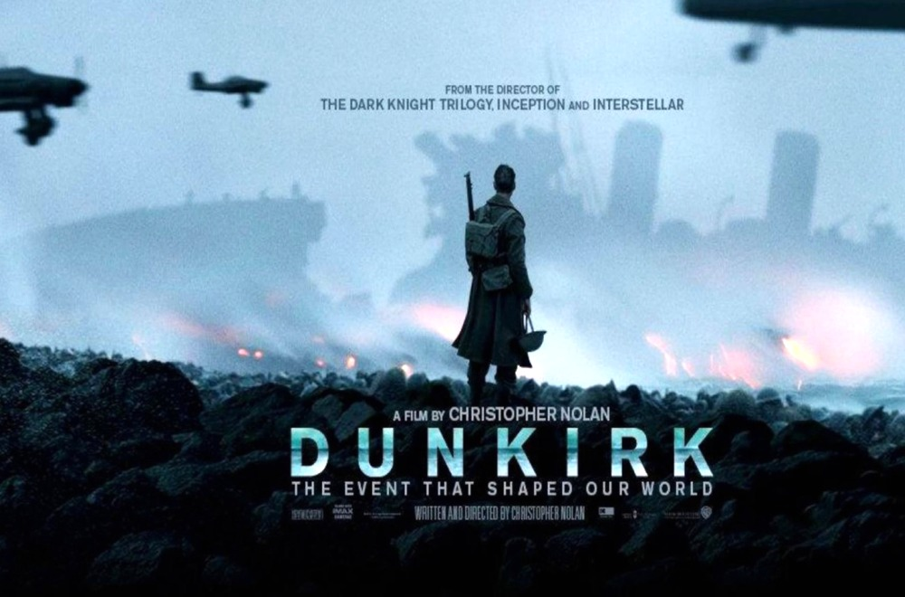 "La locandina di ""Dunkirk"""
