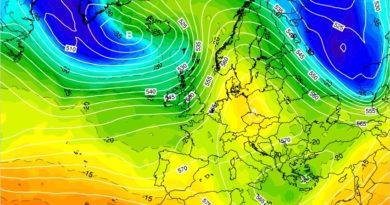 Previsioni meteo dal 6 al 13 aprile 2020