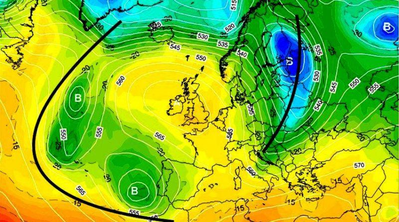 Previsioni meteo dal 14 al 19 aprile 2020