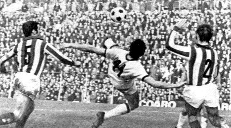 La favolosa rovesciata di Gigi Riva contro il Vicenza
