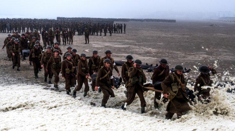 """Una scena di """"Dunkirk"""""""
